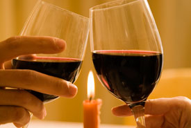 романтика и вино