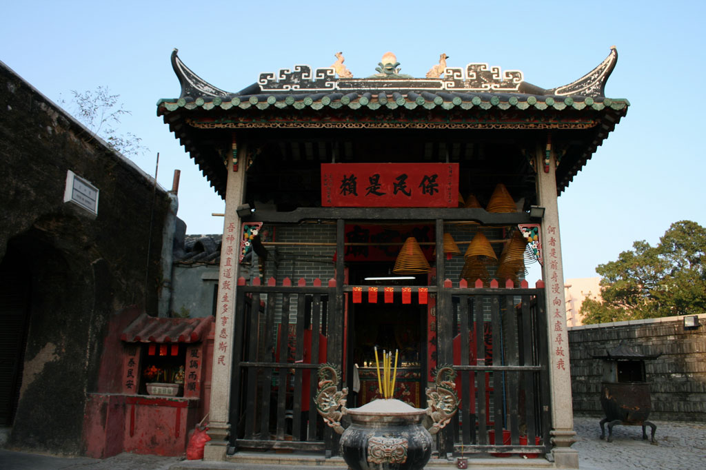 Храма Na-Tcha в Макао