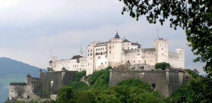 крепостта Хоензалцбург в Залцбург