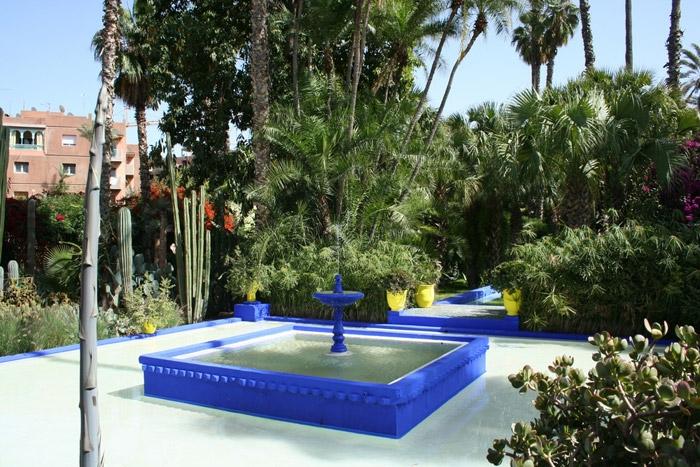 Ботаническа градина в Маракеш
