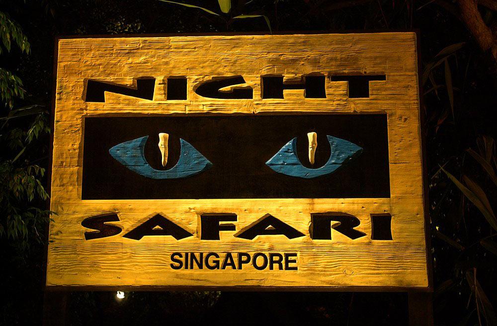 нощно сафари в Сингапур